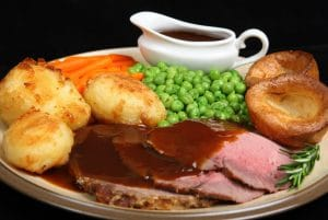 Roast Dinner Edgemoor Inn Edge Gloucester